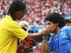 Golazo De Ronaldinho a arsenal -  Con Maradona