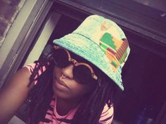 Summer dayz swag bleached bucket hat by SovereignGarments on Etsy, $40.00