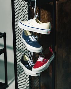 The Vans' Vault collection channels an eclectic skate style inspired by contemporary street fashion, art and music. Find unique Vans sneakers online here. Sneakers N Stuff, Shoes Sneakers, Vans Vault, Nike Airforce 1, Skate Style, Vans Shop, Film Aesthetic, Canvas Sneakers, Adidas Stan Smith
