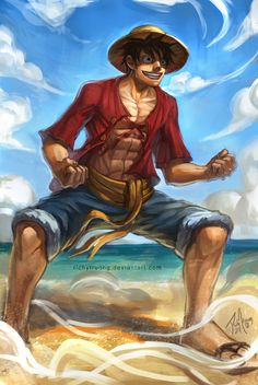 MONKEY D. LUFFY by richytru on DeviantArt