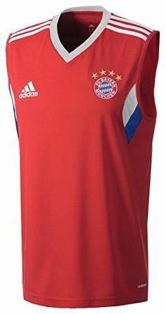 adidas, Canotta Uomo FC Bayern, Rosso (Fcb True Red/White), XL adidas http://www.amazon.it/dp/B00LF5BBHA/ref=cm_sw_r_pi_dp_bIaFvb0KTAF7X