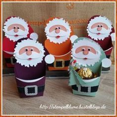 Most current Photos Santa Claus packaging Style hristmas is the most loved of vacations when everyone receives something, therefore we've to sele 3d Christmas, Stampin Up Christmas, Christmas Decorations, Christmas Ornaments, Christmas Ideas, Diy And Crafts, Crafts For Kids, Paper Crafts, Theme Noel