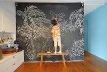 「黒板 壁一面」の画像検索結果