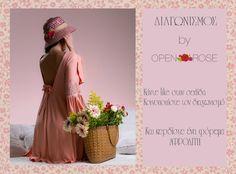 Διαγωνισμός από την Open Rose Κάντε like και share και κερδίστε ένα φόρεμα Αφροδίτη Ο διαγωνισμός ισχύει μέχρι το βράδυ της Κυριακής 15 Μαιου Η νικήτρια θα ανακοινωθεί από την σελίδα μας την Δευτέρα 16 Μαιου
