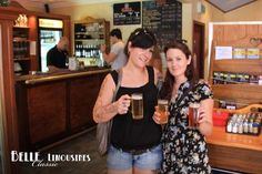 The girls enjoying a beer at the Duckstein Brewery #SwanValleyWineTour  http://www.belle.net.au/swan-valley-wine-tours/