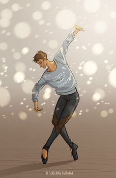 Without Lance what's the pointe??*finger guns* <3 dance puns