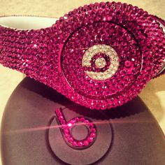 Blinggg Dr Dre Beats Headphones by BLINGGG on Etsy, $650.00