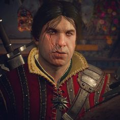 The beautiful witcher Eskel