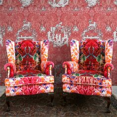 It's a bit crazy, and it isn't even the weekend! Timorous Beasties, Lampshades, Designer Wallpaper, Urban Decay, Color Inspiration, Vibrant, Instagram Posts, Fabric, Prints