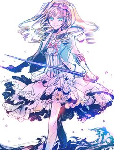 Black Butler ~~ I love Elizabeth! She's adorable! She won't get to marry Ciel, of course, but she still wins my heart.