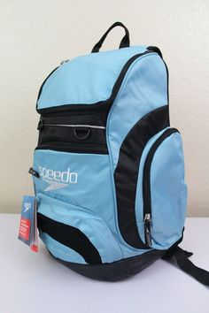 "speedo teamster backpack swimming gear dirt bag 25L 15"" padded laptop sleeve #Speedo #Backpack"