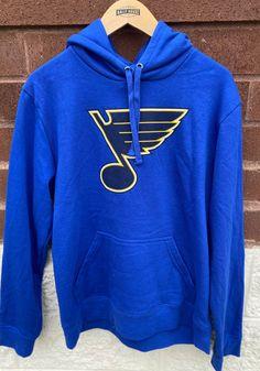 St Louis Blues Mens Blue Team Logo Long Sleeve Hoodie - 17281974 St Louis Blues, Great Books, Team Logo, Hoodies, Long Sleeve, Shirts, Men, Shopping, Sweatshirts