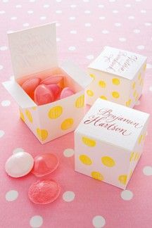 The prettiest favours and sweetest treats to delight and amuse your guests at your wedding, as seen on BridesMagazine.co.uk (BridesMagazine.co.uk)