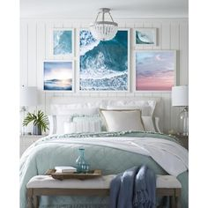 Interior Exterior, Home Interior, Interior Design, Modern Interior, Kansas City, Coastal Bedrooms, Beach Cottage Bedrooms, 60s Bedroom, Coastal Master Bedroom