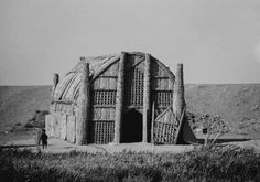 Iraque house- natural  marerials