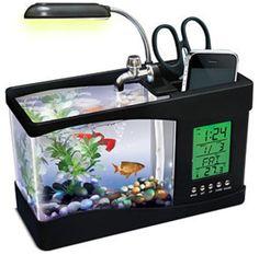 $39.99 USB Fish Aquarium