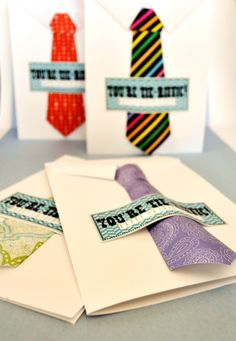 Father's Day: You're Tie-riffic! Tie Cards – Hang a Ribbon on the Moon Father's Day Activities, Primary Activities, Activity Day Girls, Activity Days, Fathers Day Crafts, Happy Fathers Day, Pioneer School, Father's Day Celebration, Dad Day