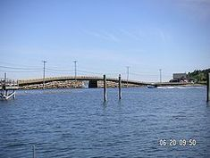 The Bailey Island Bridge (also called the Cribstone Bridge) is a historic bridge in the town of Harpswell within Cumberland County in the state of Maine. #TangledVacation2012