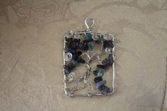 Wire Wrapped Tree of Life Pendant by FairyFresh on Etsy, $15.00