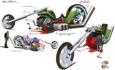 Mutt Motorcycle from Motorcity