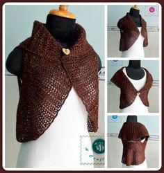 Crochet circle vest - Maz Kwok's Designs