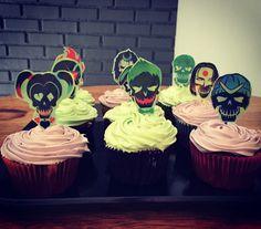 Suicide Squad cupcakes