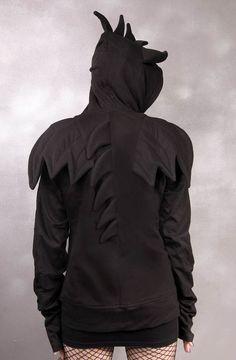 Dragon Winged Hoodie :: VampireFreaks Store :: Gothic Clothing, Cyber-goth, punk, metal, alternative, rave, freak fashions