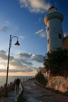 San Felice Circeo #Lighthouse - Latina, #Lazio https://www.flickr.com/photos/gab79/3167308147