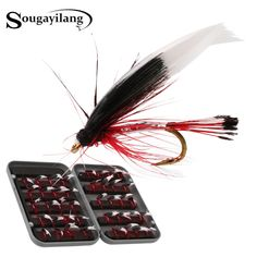 Sougayilang 40pcs Trout Fly Fishing Nymphs Dry Fly Fishing Flies With 14x9x3cm Box Artificial Lures Fly For Fishing Equipment |  Cheap Product is Available. This shopping online sellers provide the discount of finest and low cost which integrated super save shipping for Sougayilang 40pcs Trout Fly Fishing Nymphs Dry Fly Fishing Flies with 14x9x3cm Box Artificial Lures Fly for Fishing Equipment or any product.  I hope you are very lucky To be Get Sougayilang 40pcs Trout Fly Fishing Nymphs Dry…