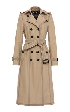 Luggage Stitch Slim Fit Trench Coat by BURBERRY for Preorder on Moda Operandi