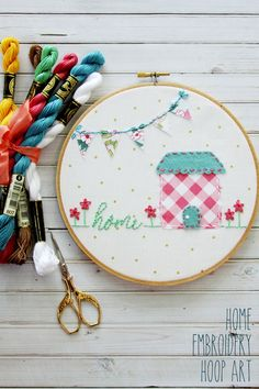 A couple weeks ago I got to go to Snap blog conference (it was AMAZZZING) I got to go to a fun hands on class with Bev from Flamingo toes to make THIS awesome embroidery hoop art and on the table were these little…..things. I had no idea what they were! We had to call …