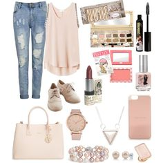 A fashion look from March 2015 featuring Rebecca Taylor tops, Furla tote bags and Blue Nile bracelets. Browse and shop related looks.