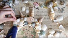 Zwischenräume mit Perlen füllen