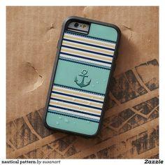 nautical pattern tough xtreme iPhone 6 case