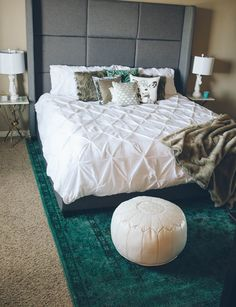 cozy bedroom @luluandgeorgia