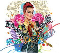 https://flic.kr/p/gjTM7r | D-Niss Fiesta! | Arte para el Disco fiesta de D-niss Rosenthal pop star nacional.