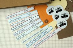 smash book printables