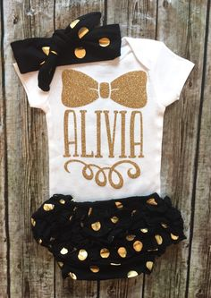 A personal favorite from my Etsy shop https://www.etsy.com/listing/453152642/personalized-bodysuit-name-bodysuit