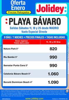 Ofeta Enero - Playa Bávaro desde 820€ Tax incl - 7 Noches. Salidas Sábados 11, 18 y 25 ultimo minuto - http://zocotours.com/ofeta-enero-playa-bavaro-desde-820e-tax-incl-7-noches-salidas-sabados-11-18-y-25-ultimo-minuto-2/
