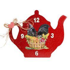 Neslidesign  Horozlu Çaydanlık Saat : 69,90 TL | evmanya.com