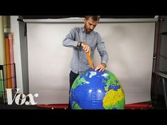 All maps are wrong. I cut open a globe to show why. - Vox