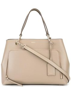 DKNY zip pocket tote.  dkny  bags  shoulder bags  hand bags  leather  tote   . Aude Carine · Sac 3119560a176