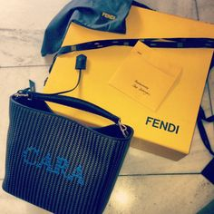 .@Mini C Delevingne   Thank you Fendi! X   Webstagram - the best Instagram viewer