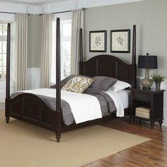 Bermuda Panel 2 Piece Bedroom Set