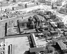Berlin: Das Alliierte Gefängnis an der Wilhelmstraße Berlin-Spandau in den 70ern