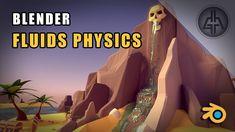 Blender Tutorial - Fluid Simulation - Animation & Physics Tips