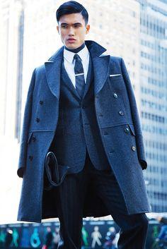Elegant Tailored Topcoat Trend