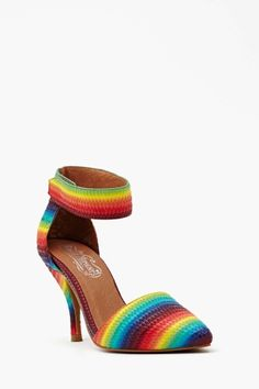 (Singing Dorothy's part)...Somewhere over the rainbow I saw these shoes...#LUST Nasty Gal - New & Vintage Clothing