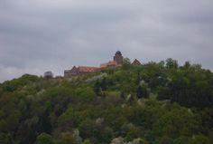 Burg Breuberg. Ansicht von Neustadt Odenwald