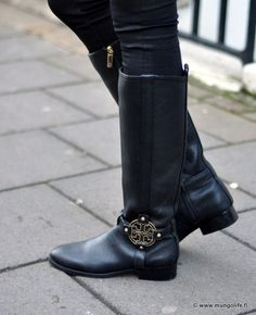 A favorite from Tory Burch — this year's update: the Kiernan Riding Boot
